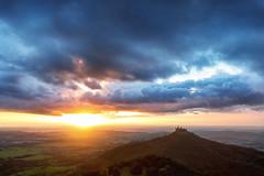 Burg Hohenzollern (Markus Dorfmeister) Tags: burghohenzollern sonnenuntergang