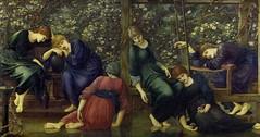 Edward Burne-Jones 'The garden court' 1871-90 (ArtTrinArt!!) Tags: sir edward burnejones 18331898