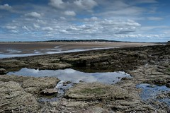 (LEALSWEE) Tags: west kirby beach rockpools summer coast rocks reflections hilbre island low tide