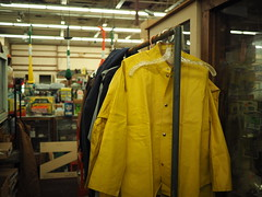 Peterson's Hardware (mattheuxphoto) Tags: petersonshardware lemont illinois lemontillinois hardware hardwarestore suburbanchicago closing store junkstore historic chicagoland jacket rainjacket