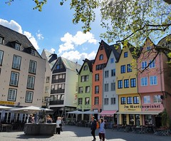 Historical & Colorful Cologne (Helen) Tags: rhineriver northrhinewestphalia nrw cologne germany