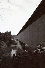 Contax G1 Williams Covered Bridge 2 () Tags: indiana road trip history roadside midwest attraction tourist vintage retro classic camera williams historic longest covered bridge
