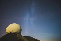 Starlight (Nexwayz) Tags: star milky way milkyway voie lacte france grand ballon radar radome etoile astrophotographie astrophotography nuit ciel