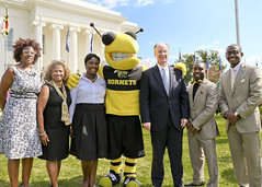 341A9959 (Governor Robert Bentley) Tags: montgomery alabama usa school spirit swac ncaa auburn aubie blaze dragon uab cocky gamecock jacksonville freddie the falcon montevallo north west troyuniversity aum university south uah state athens