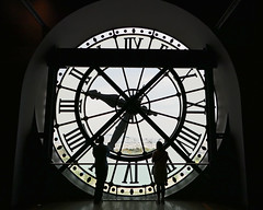 Window of time - Musee d'Orsay, Paris (Monceau) Tags: window time clock musedorsay paris silhouette seine seethrough dilosep2016 museum architecture