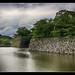 Himeji J -  Himeji-jo  White Heron Castle water ditch 07
