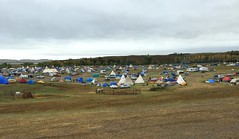Red Warrior Camp (Sandy*S) Tags: nodapl camp tipi tent northdakota