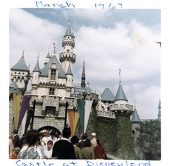 Sleeping Beauty Castle, March 1967 (Tom Simpson) Tags: disney disneyland vintage 1960s 1967 vintagedisney vintagedisneyland sleepingbeautycastle