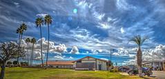 Clubhouse Cloudscape Panorama 10-16-16 (Michael F. Nyiri) Tags: cloudsstormssunsetssunrises clouds cloudscapes sky