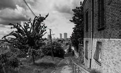 Montreuil, B&W, 4 (Patrick.Raymond (2M views)) Tags: 93 banlieu montreuil street rue argentique tmax nikon