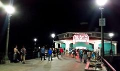 Pokemon on the Pier (uhhey) Tags: california pier night