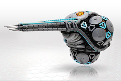 Kulicidae SHIP (Legohaulic) Tags: lego space alien ship shiptember