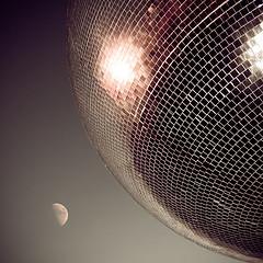 Mirror Ball Moon (Mark-F) Tags: mirrorball mirror ball moon dslr markymarkf mark markf freeman markfreeman blackpool lancashire fylde
