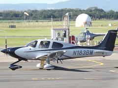 N183BM Cirrus SR22 (Aircaft @ Gloucestershire Airport By James) Tags: gloucestershire airport n183bm cirrus sr22 egbj james lloyds