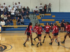 "Volleyball Playoff Game at Lewisville HS • <a style=""font-size:0.8em;"" href=""http://www.flickr.com/photos/137360560@N02/29968079534/"" target=""_blank"">View on Flickr</a>"