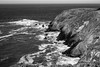 Black and White Test #5 (Corey Hunt) Tags: headlands bw black white outdoors california ocean rocks