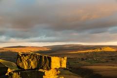Buckstones Sunset Oct 2016 046 (Mark Schofield @ JB Schofield) Tags: pennines pennineway peat rocks buckstones yorkshire huddersfield watershed moors moorland marsden bog england landscape sunset canon 5dmk3 pulehill standedge