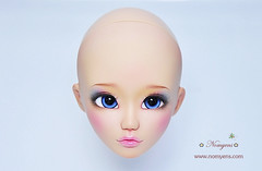 Ken no Kokoro doll TS (♥..Nomyens..♥) Tags: bjd balljointdoll toy custom faceup paint painting repaint handmade nomyens nomyenscom sd kennokokoro tanskin
