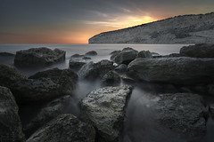 Last light (Alex Apostolopoulos) Tags: longexposure sunset twilight light rocks seascape water rockformation landscape sky october sea cyprus sony sonya6000 ilce6000 samyang samyang12mmf20ncscs ndfilter haida manfrottobefree explore