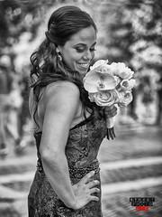 Maid Of Honor Street Photo NYC 2016 (Street Photo NYC) Tags: nyc newyork ny nikon d600 street streetphoto streets streetphotonyc streetphotography people candid bw blackandwhite blackwhite monochrome woman beauty wedding flowers maidofhonor beautiful centralpark pretty portrait