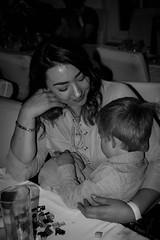 DSC_1854 (jameshowardphotography) Tags: mono monochrome black white wedding mother child contrast hair cuddle embrace portrait tender