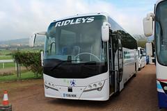 Ridleys, Leamington YX16 NXK, Volvo B8 in Cheltenham (majorcatransport) Tags: warwickshirebuses ridleysleamington volvo cheltenham plaxton volvob8