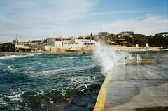 Clovelly (jayolz) Tags: konicapop kodakproimage100 35mm konica beach surf landscape ishootfilm film kodak