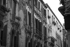 architectural rhythms, movements, Venice, Italy, Nikon D40, nikon nikkor 55mm f-3.5, 10.25.16 (steve aimone) Tags: architecture architecturalforms rhythms rhythmicmovements venice italy nikond40 nikonnikkor55mmf35 nikonprime primelens blackandwhite monochrome monochromatic cityscape city italian