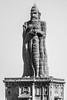 Thiruvalluvar Statue (VinayRaghavendra) Tags: blue vivekanandarockmemorial swamivivekananda kanyakumari laccadive lakshadweep thiruvalluvar india photography vrclikz