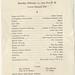 Post Exam Jubilee Program, February 12, 1927