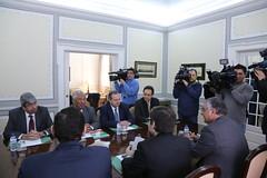 PSD recebe delegação do Partido da Oposição