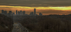 Tempora (Paul B0udreau) Tags: city trees winter light sky snow toronto ontario canada building cars skyline architecture clouds buildings nikon traffic silhouettes gimp samsung cranes master layer hdr sincity ribbet donvalley photomatix cityarchitecture tonemapping nikkor1855mm d5100 samsungmaster daarklands trolledproud trollieexcellence magiktroll daarklandsexcellence sincityexcellence pinnaclephotography poeexcellence paulboudreauphotography nikond5100