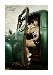 cohiba's Pin up (Emmanuel DEPARIS) Tags: chevrolet girl nikon garage creepy pinup emmanuel deparis