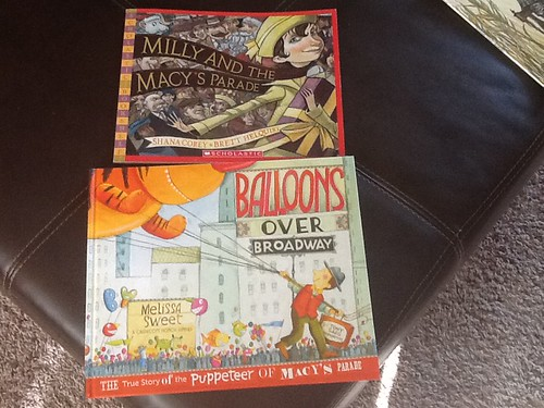 Macy's Parade books by shellyfryer, on Flickr
