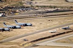 Overflight AMARG 63 (eLaReF) Tags: graveyard airplane desert tucson az aeroplane storage davis scrapping scrap derelict dm boneyard davismonthan amarc monthan kdma amarg 309th