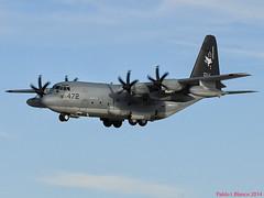 Estados Unidos - Marines (pabloi) Tags: usmc de marine air zaragoza marines lockheed base hercules unit cuerpo estados unidos expeditionary kc130j l382 166472