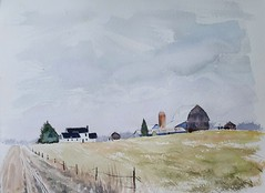 Amish Fields of Frost (Art and Nature-Mike Sherman) Tags: