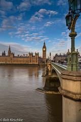 Bridge view of The Elizabeth Tower (Bob Kirschke) Tags: london river bigben thamesriver theelizabethtower