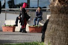 talk (tolisk9) Tags: people italy rome roma italia