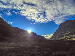 sunshine (Marilyn Connor) Tags: sun mountains nature clouds landscape scotland countryside scenery sony hills glencoe marilynconnor