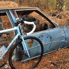 The Pine Barrens Team car! #weavercycleworks #custombicycles