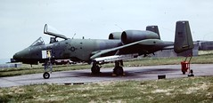 Fairchild-Republic A-10A Thunderbolt II (Sentinel28a1) Tags: republic usaf fairchild warthog a10 sembach thunderboltii 81sttfw