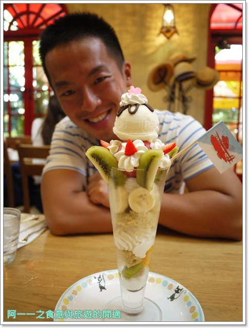 東京美食三鷹之森宮崎駿吉卜力美術館下午茶草帽咖啡館image026