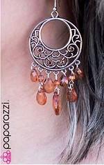 5th Avenue Brown Earrings K1 P5310-4