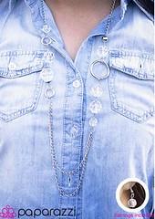 5th Avenue White Necklace K3 P2630-5