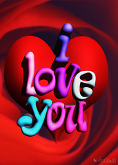 I love you (Hal Halli) Tags: wedding red color art texture love beautiful rose illustration happy bright symbol decorative magic valentine romance celebration passion romantic lovely february decor textured elegance heaert
