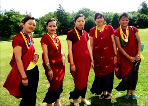 Magar Culture And Tradition Magar Cultural Dress up on