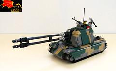 Odin Self-Propelled Gun (Eínon) Tags: self model lego russia s soviet cannon syria artillery sv cccp propelled m109 t80 urss howitzer donbass msta ossetia 152mm 2s3 2s19 mstas akatsiya so152 1k17 2s35 2a65 koalitsiyasv koalitsiya szhatie со152