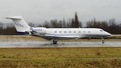 N650ER Gulfstream Aerospace G650 @EAP (Huygens! aka GSatiFan) Tags: airport g basel flughafen vi bsl aerospace gulfstream mlh euroairport mulhouse eap gvi g650 lfsb lszm n650er g650er