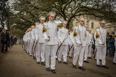 Ross Volunteer Company at Mardi Gras (corpsofcadets) Tags: parade rv mardigras rex rossvolunteers